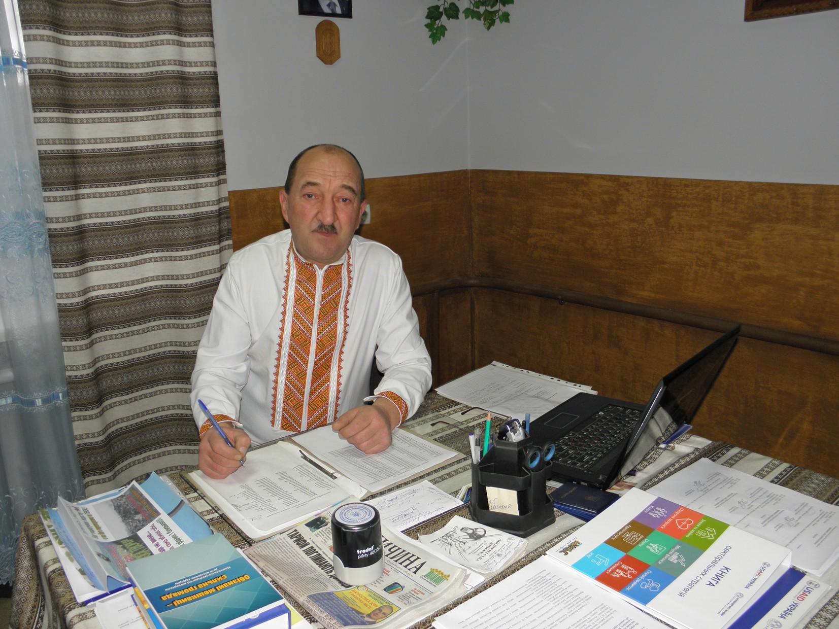 Бербеничук Дмитро Дмитрович - Голова Космацької сільської ради ОТГ
