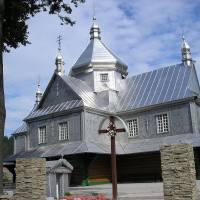 Церква св. Параскеви в селі Шешори