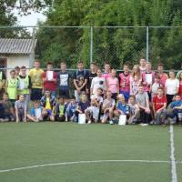Тур з міні-футболу серед учнів 6-11 класів, які проводив Заболотівський ліцей