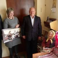 Свій поважний 100-річний ювілей відзначила Паньків Василина Миколаївна, жителька селища Заболотів