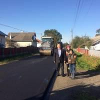 В селищі Заболотів по вулиці 24 серпня проведено роботи по капітальному ремонту автомобільної дороги