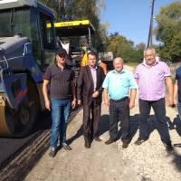 У с. Рудники провели капітальний ремонт автомобільної дороги по вул. Шевченка з прокладанням асфальтного покриття