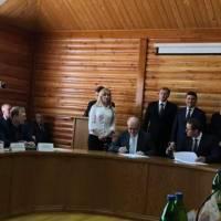 Зустріч голови селищної ради ОТГ І. Танюка з Прем'єр-міністр України В. Гройсманом щодо підписання договору