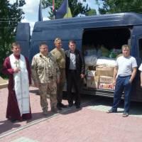 За сприянням голови Заболотівської селищної ради ОТГ Івана Танюка відправлено гуманітарну допомогу на Схід