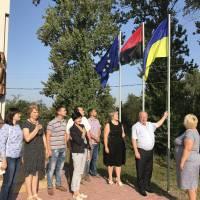 День прапора урочисто вшанували і у Заболотівській селищній раді об'єднаної територіальної громади