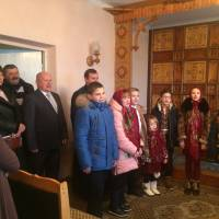 З Різдвяною колядою завітали до Заболотівської селищної ради колядники