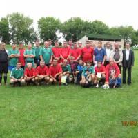 Ветерани футболу сусідніх сіл Ясенів-Пільний та Серафинці