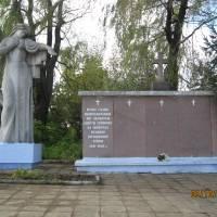 Пам'ятник загиблим на фронтах Другої світової війни