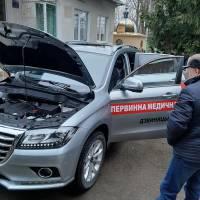 Нова автівка швидкої допомоги тепер і в Росільні!