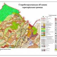 КАРТА Старобогородчанської  ОТГ