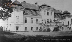 Palac w Bolszowcach, 1938