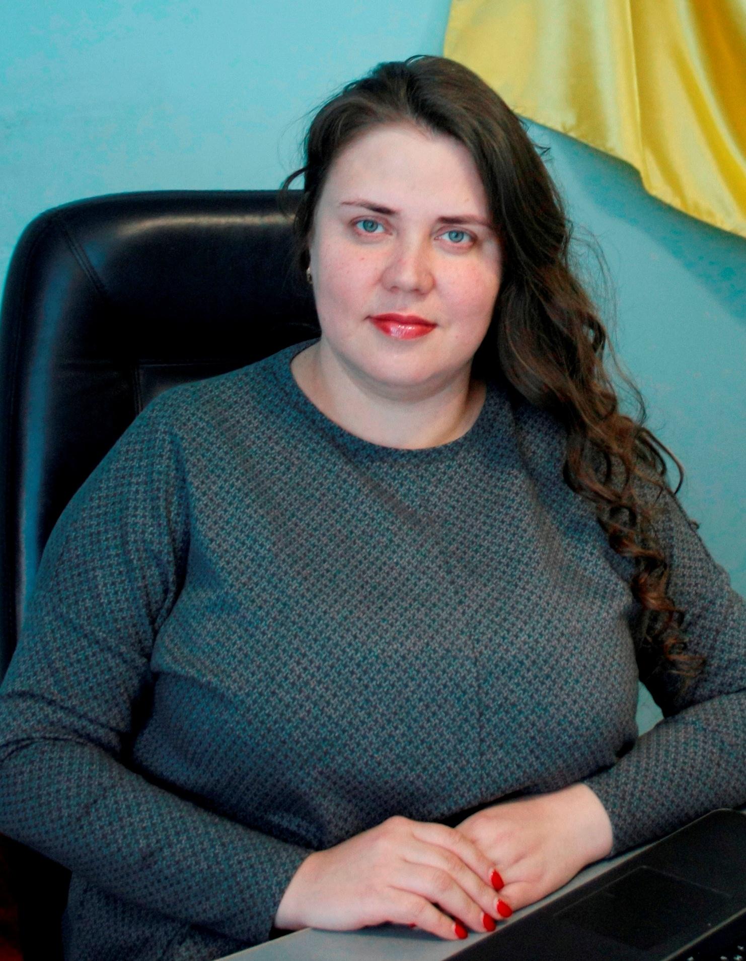 В.о. міського голови Чорненька Крістіна Іванівна