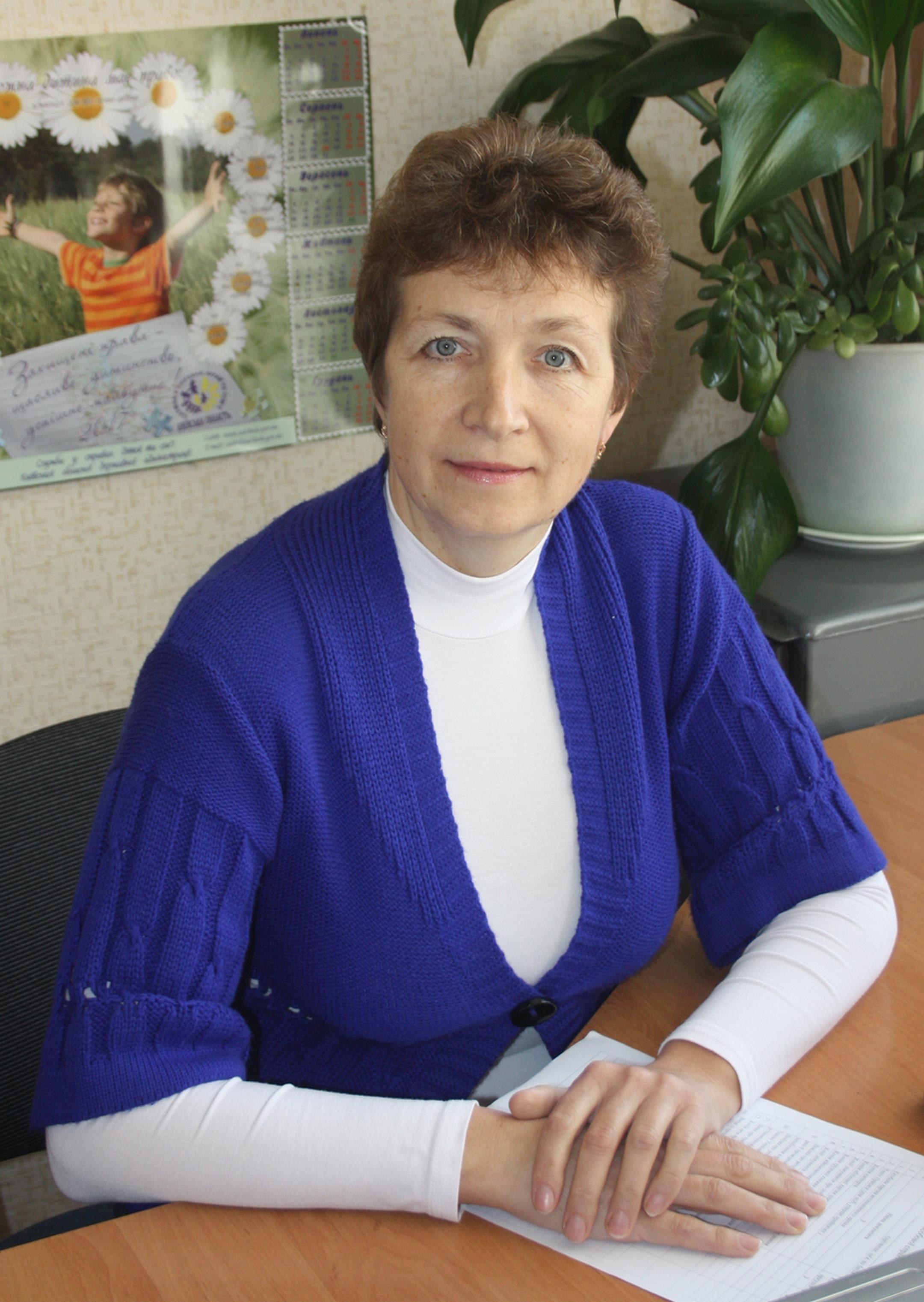 Зайченко Ірина Яківна Головний спеціаліст (кадрова робота)