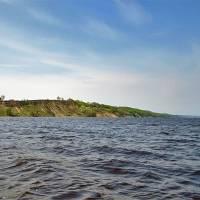 Дніпро в районі Ржищева