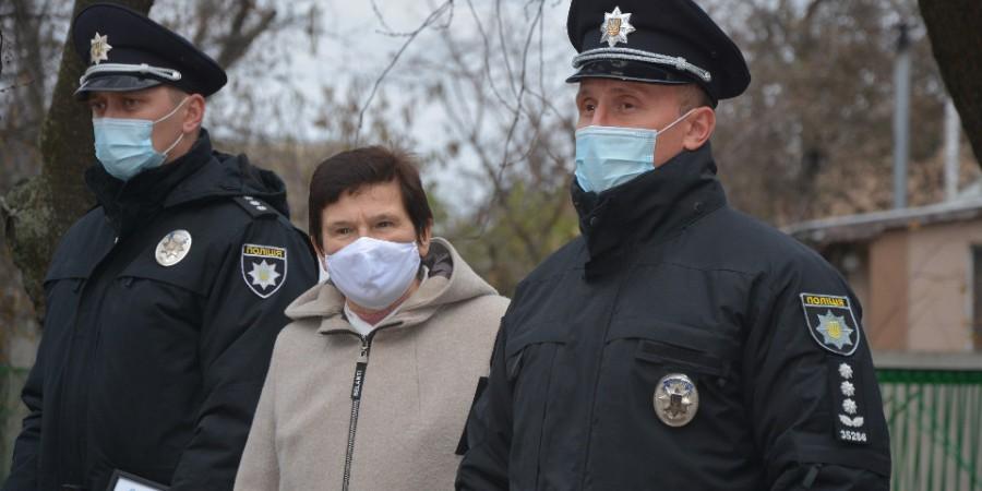 Громаді представили поліцейського офіцера