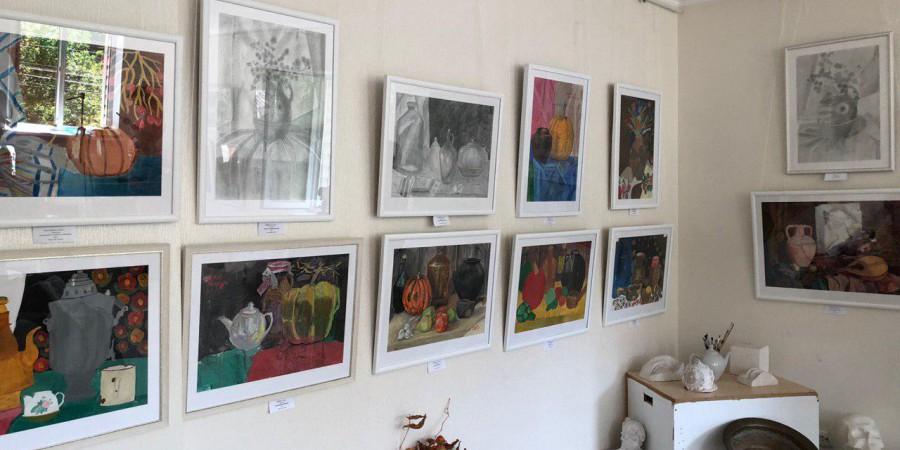 11 звітна виставка Художньої студії с. Мархалівки
