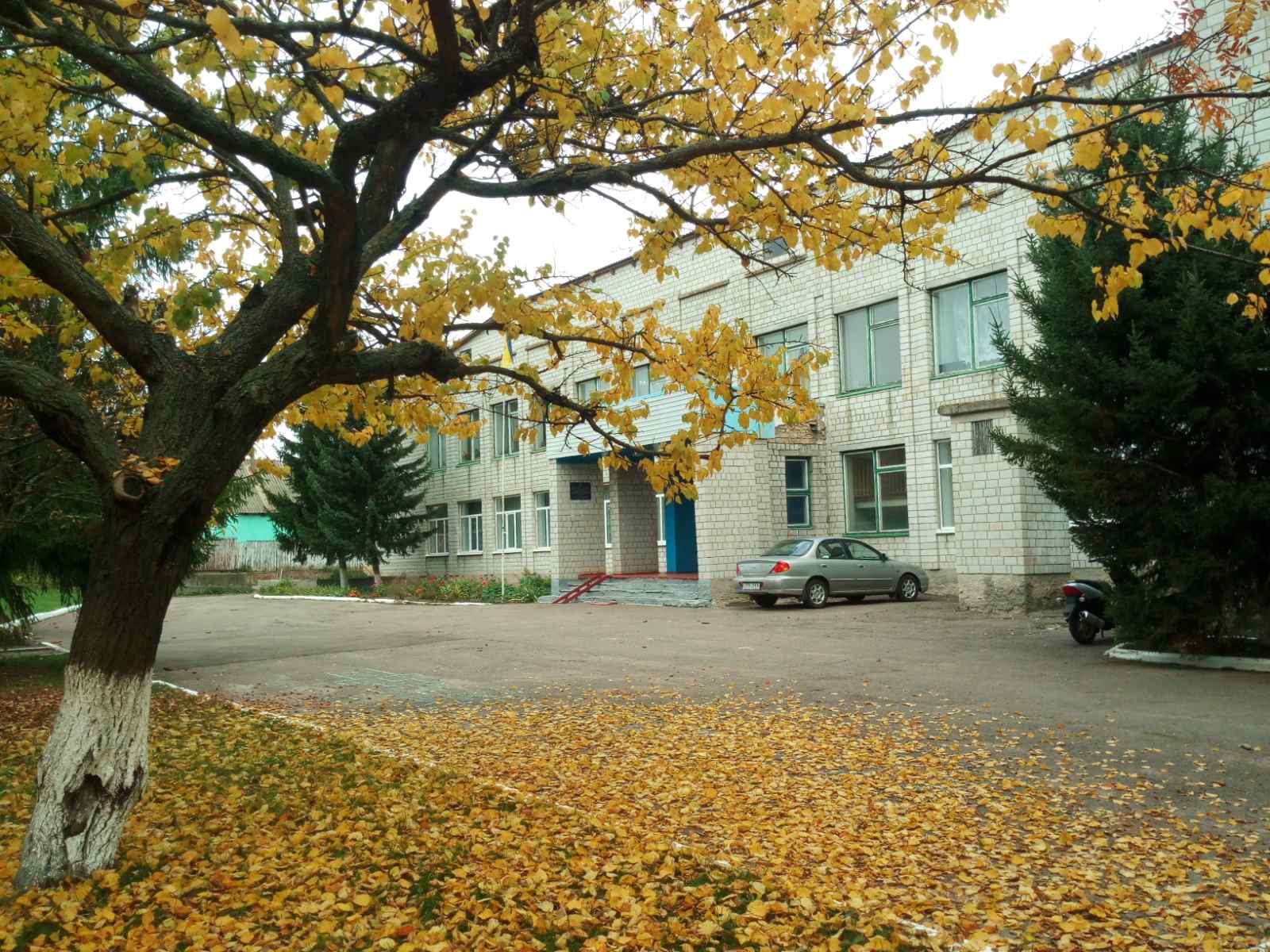 Школа села Яблунівка Бишівської сільської ради