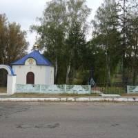 Капличка в центрі села Козичанка
