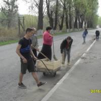 Прибирання вул. Київська