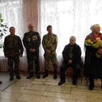 Привітання матері загиблого афганця Вадима Гладуша