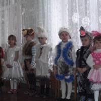 Святкування Нового року у дитячому садочку