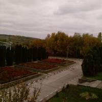 вид на центр села