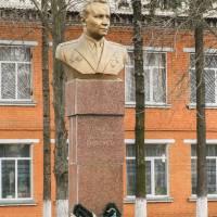 памятник І.І.Братуся - герой радянського союзу