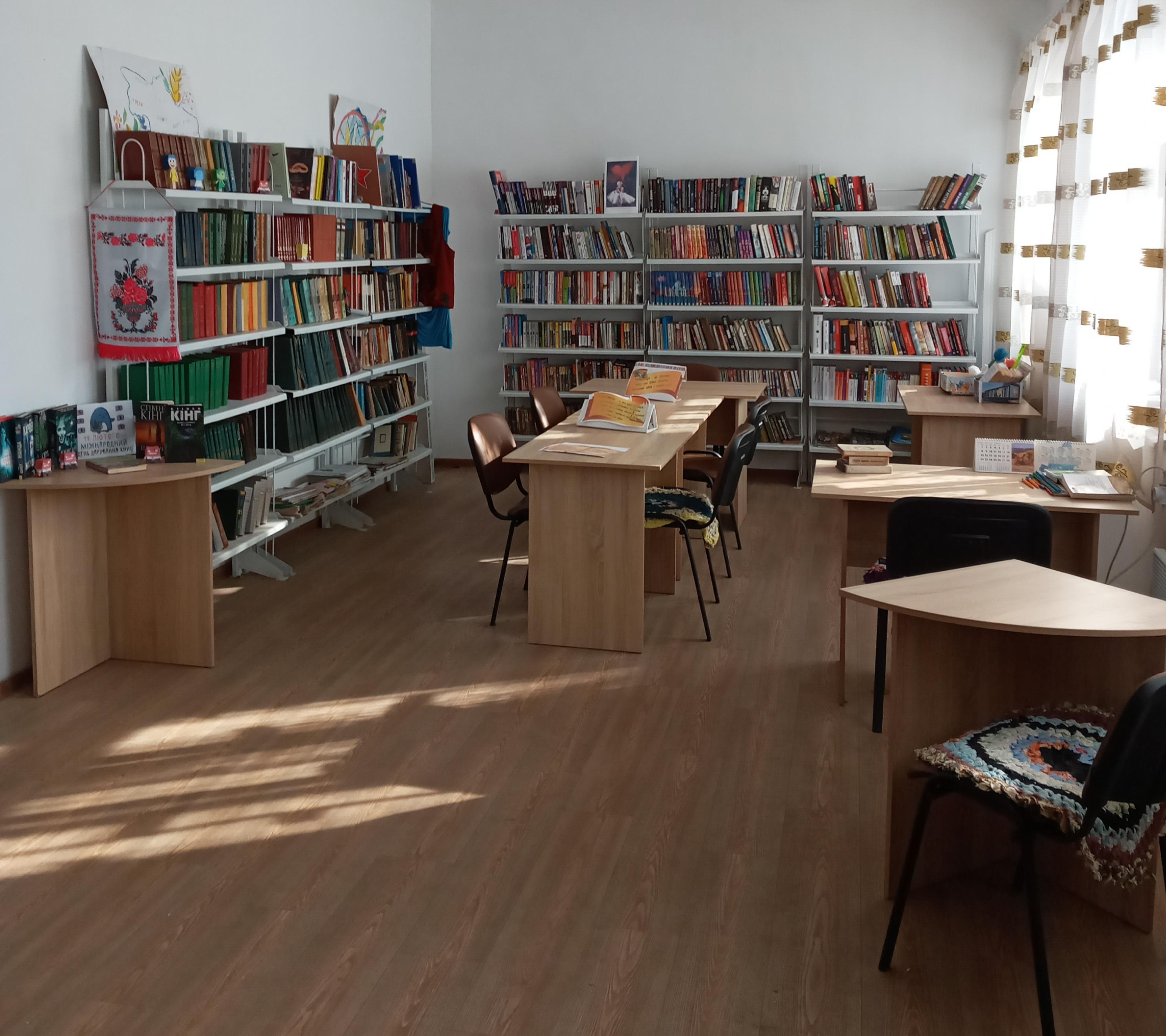 Бібліотека-філія села Улянівка Попельнастівської сільської ради