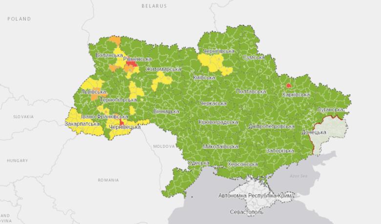 Україна в «зеленій» зоні, але що треба пам'ятати