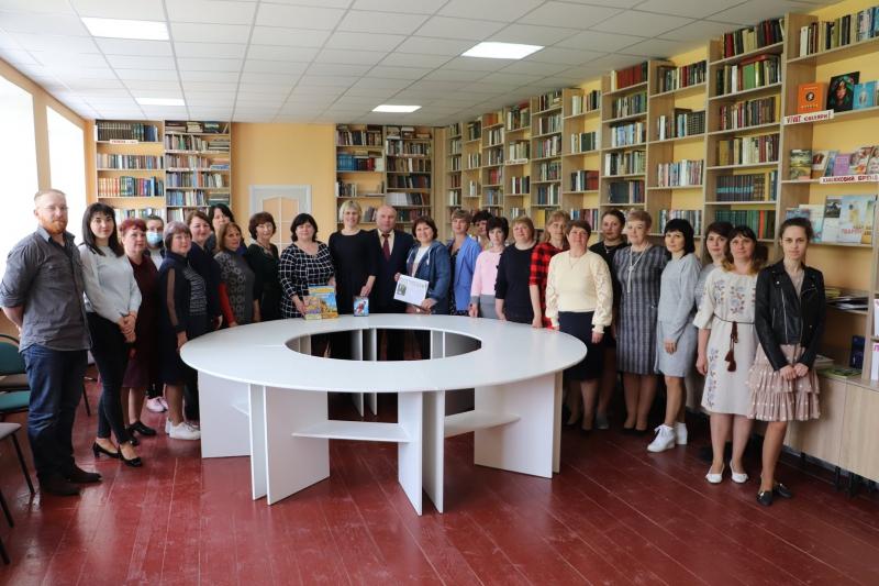 Відкриття Центральної публічної бібліотеки Попельнастівської ТГ