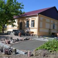 Будівництво культурно-освітнього центру