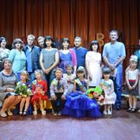 Вихованці дитячого садочка Капітошка