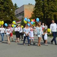 Колектив Голованівської селищної ради прийняв участь в урочистій ході під назвою