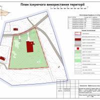 План існуючого використання території