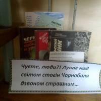 книжкова викладка бібліотека с. Комаровичі