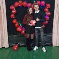 День Святого Валентина в Нижанковицькій ЗСШ І-ІІІ ступенів
