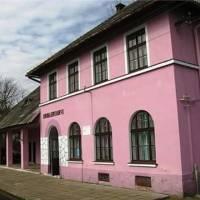 Залізнична станція, збудована у 1872р.