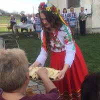 Фольклорне свято Великодні візерунки у с.Плешевичі