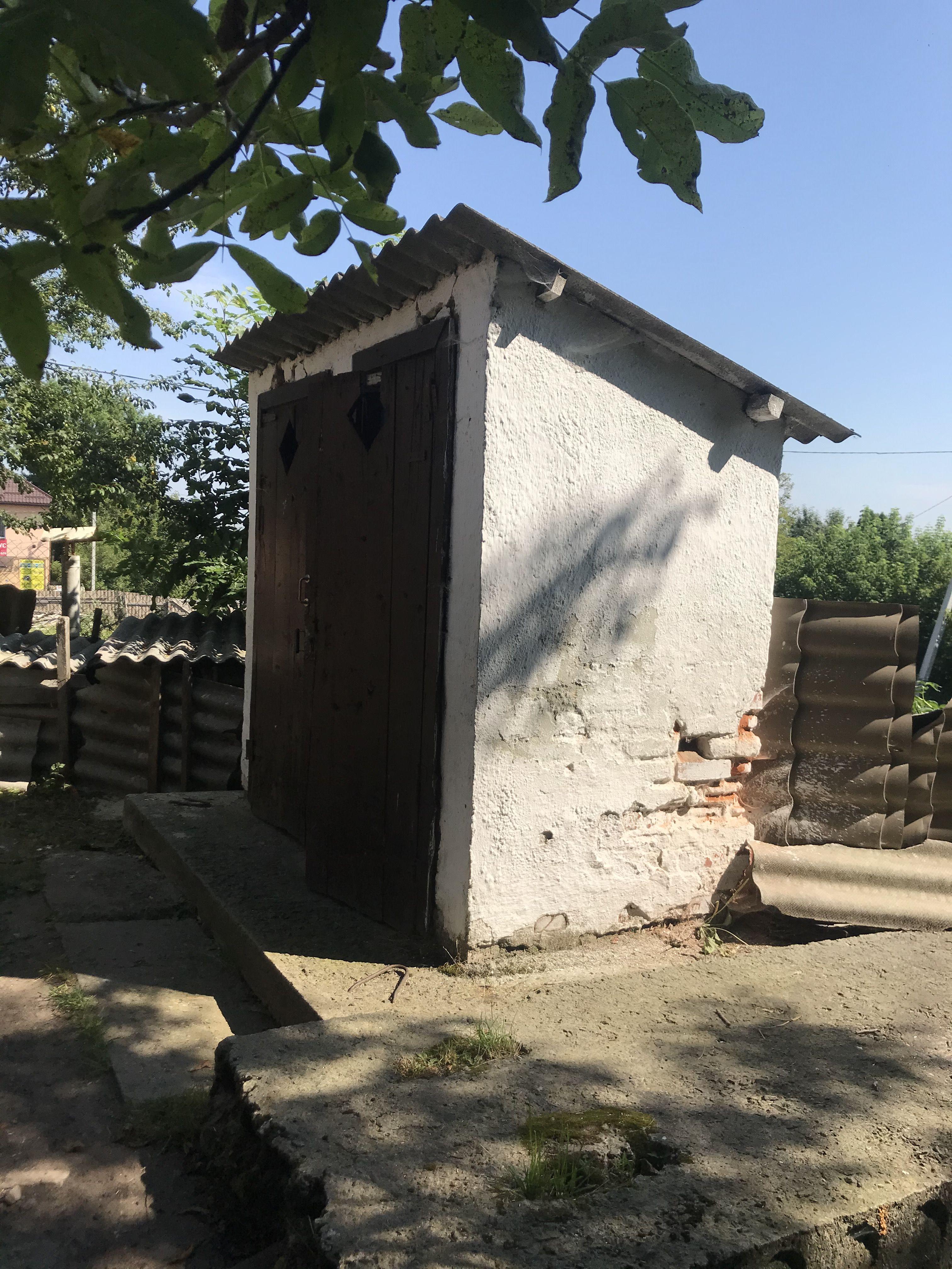Туалет старий