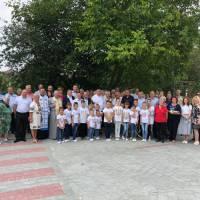 Освячення дороги по вулиці Котляревського у селі Чишки.