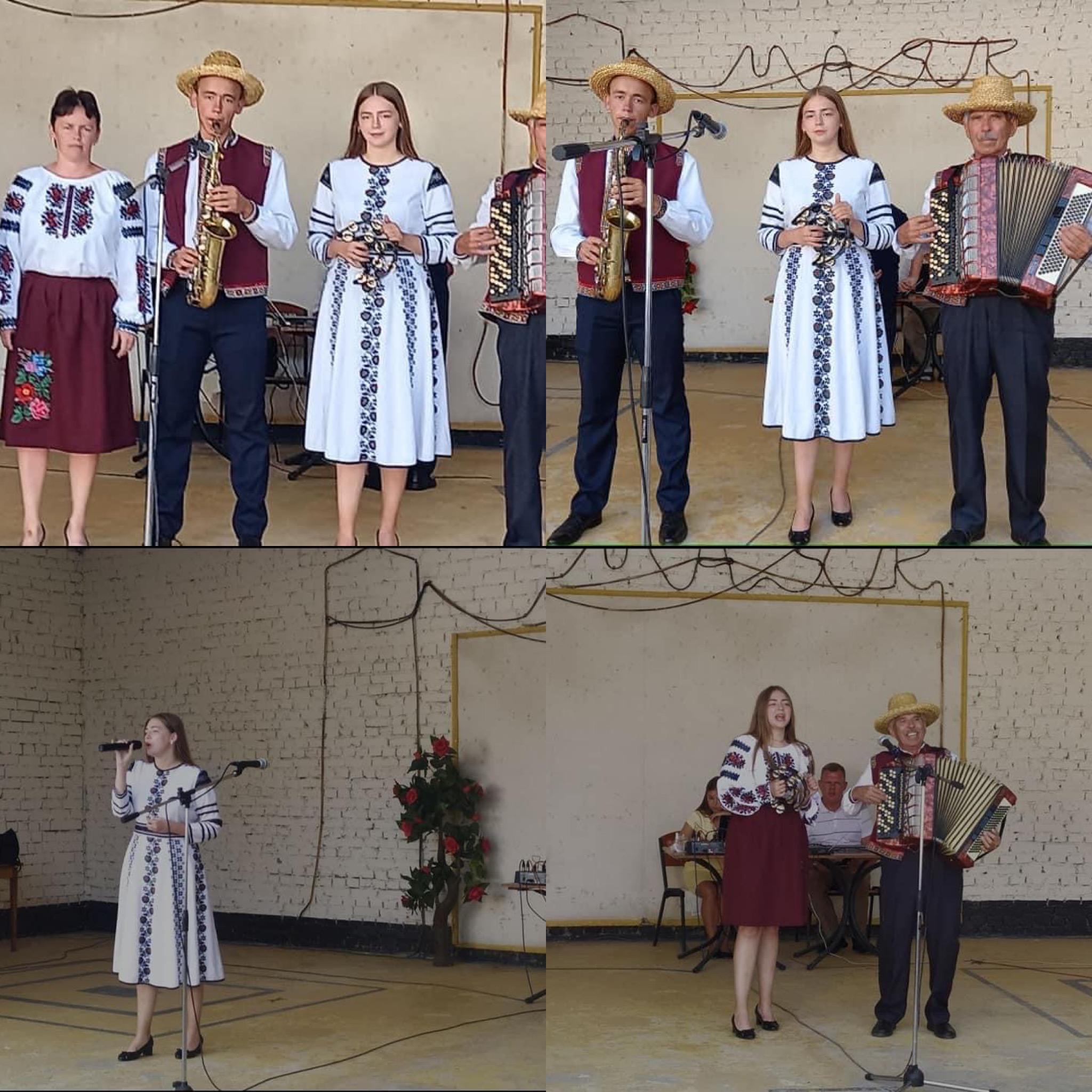 Ансамбль народних музик сім'ї Штуринів с. Малий Любінь прийняв участь у заключному Всеукраїнському фестивалі пісенної та музичної творчості