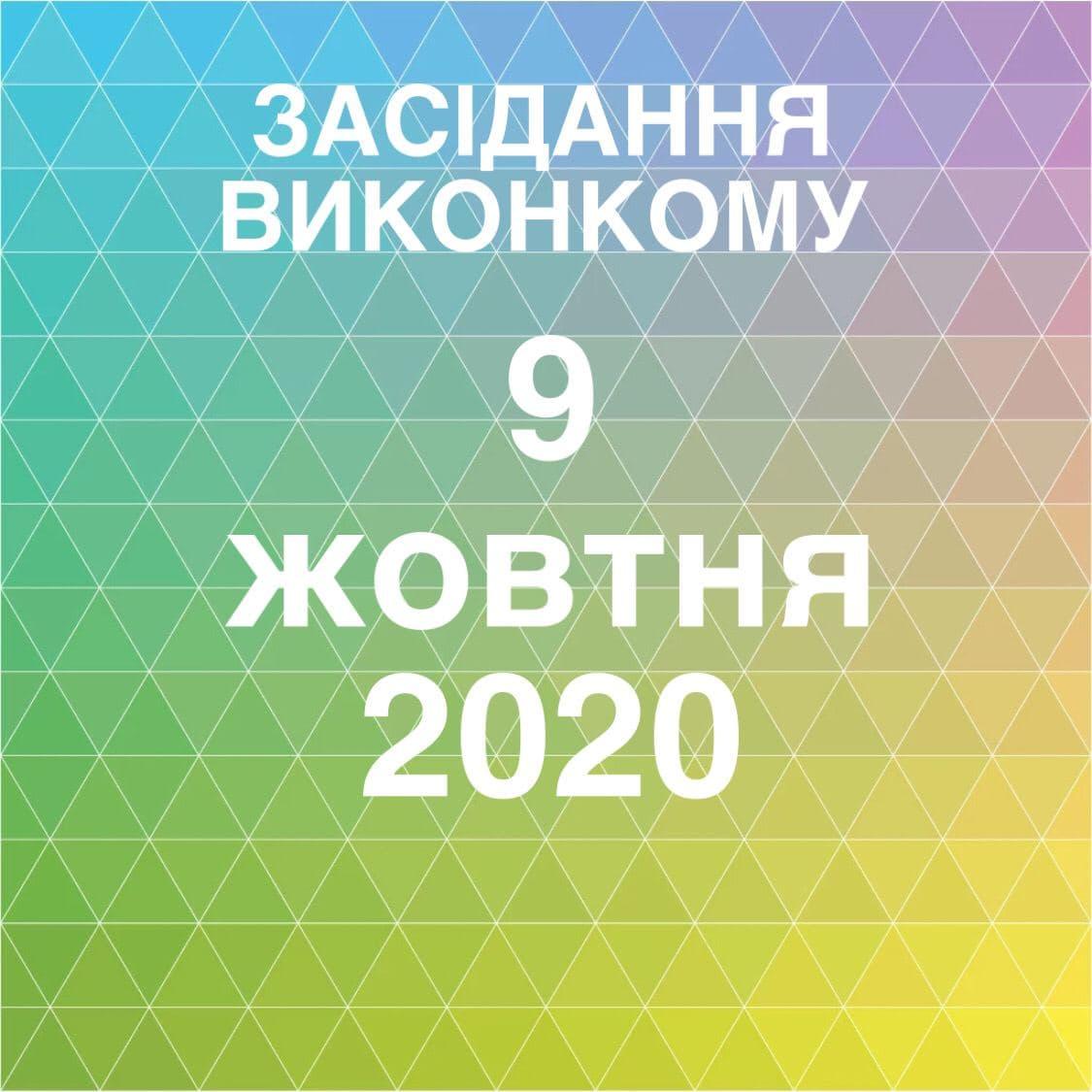 Засідання виконавчого комітету Великолюбінської селищної ради Городоцького району від 9 жовтня 2020 р