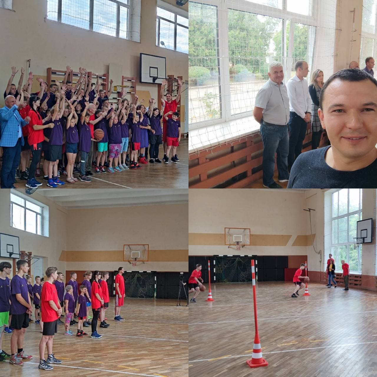 Дитячий баскетбольний табір