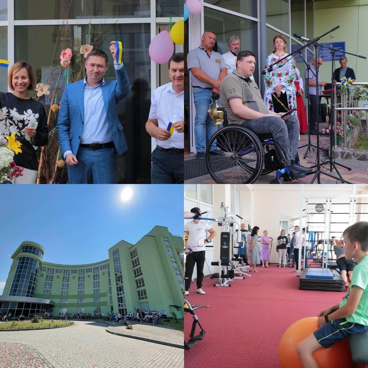 У Великому Любіні запрацювала нова філія Центру комплексної реабілітації для осіб з інвалідністю «Галичина»