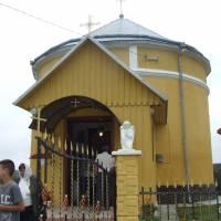 Унікальна капличка-ротонда у селі Новий Став (перші згадки  датовані 1600 роком)