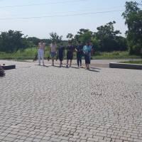 Покладання квітів до Дня скорботи і вшанування пам'яті жертв війни в Україні