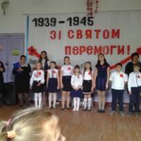Святковий концерт в Новопетрівському сільському клубі 09.05.18