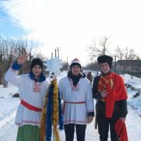 коляда в селі Іванівка