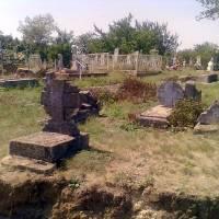 Козацькі поховання на сучасному кладовищі