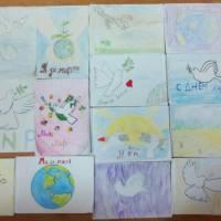 Виставка малюнків у Великоплосківському ОЗО